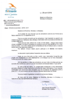 Courrier du maire